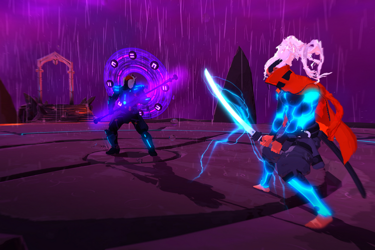 Intense and Colorful Shooter Furi Now on PS4, Xbox and PC