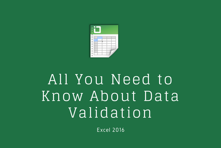 Learn Excel How to Use Data Validation