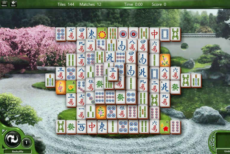 Microsoft Mahjong Updated with Brand New Features for Windows 10