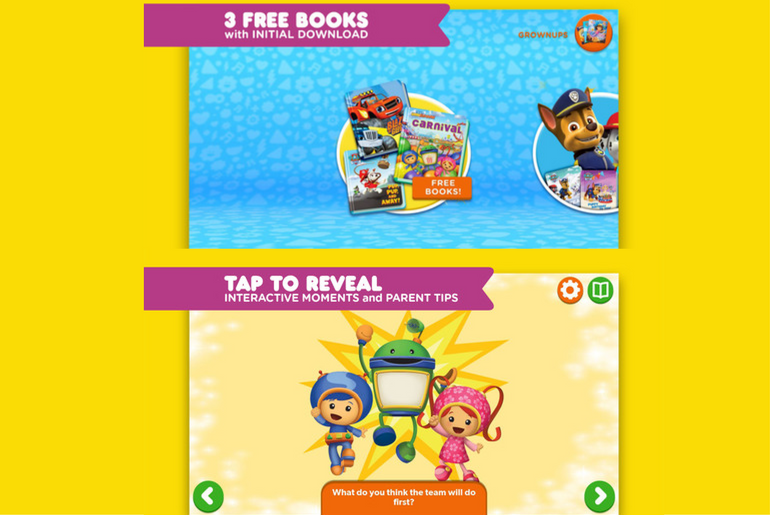 Nick Jr Books is a Fantastic Reading App for Kids - TheAppTimes