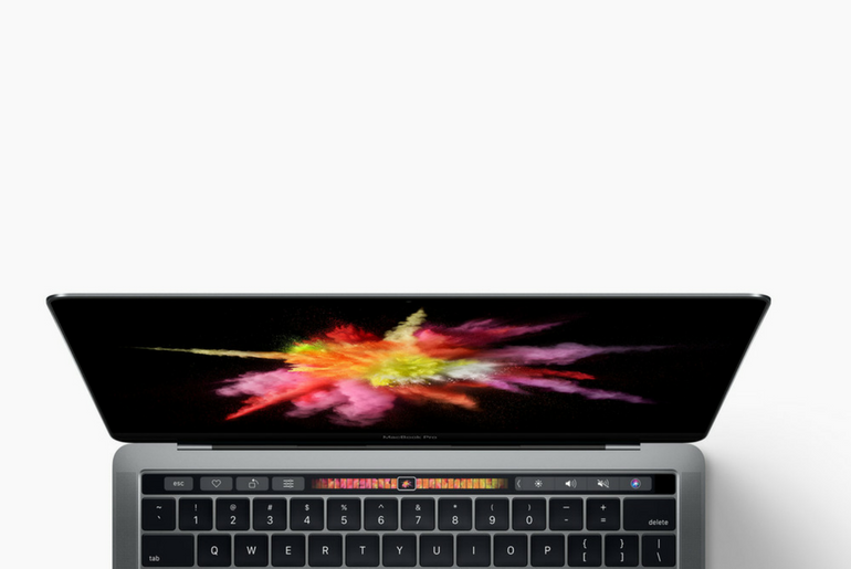 Touch Bar in MacBook Pro