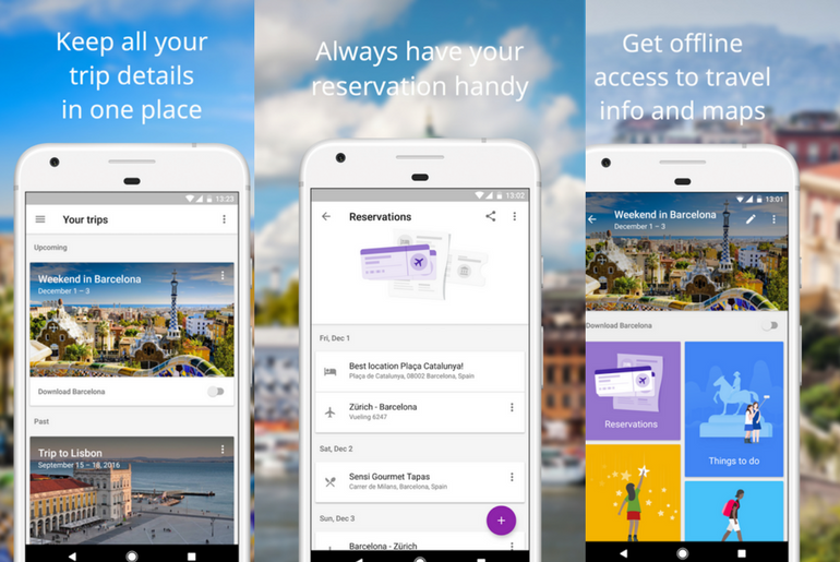 Travel App Google Trips is a Must Have Planner for all Your Travels