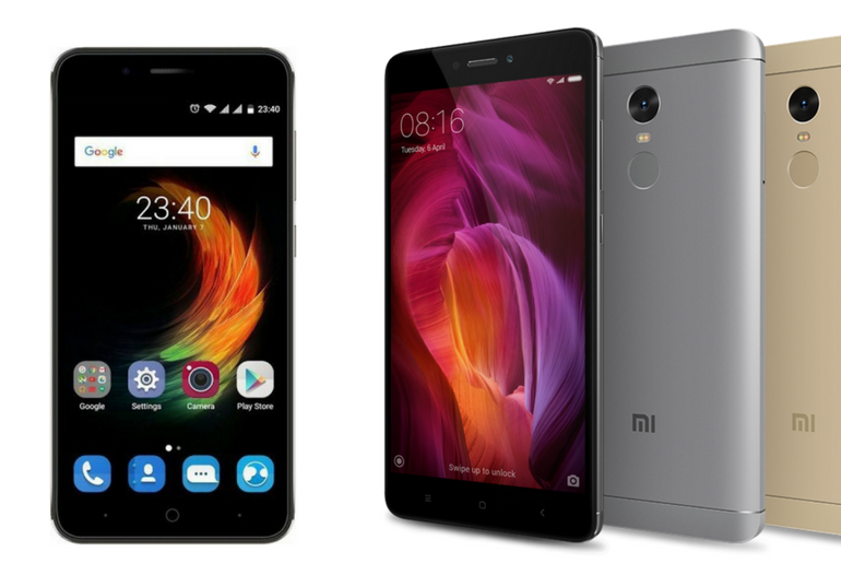 Xiaomi Redmi Note 4 vs ZTE Blade A2 Plus