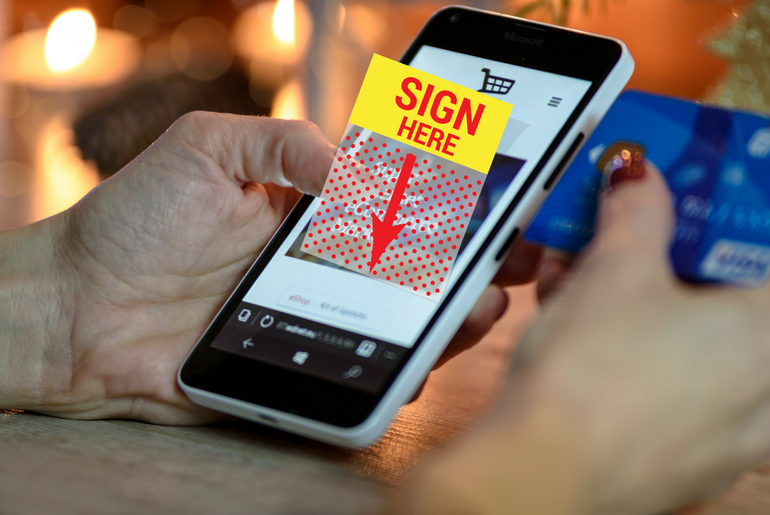 Create Customized Signatures on your iPhone with UVUEME App
