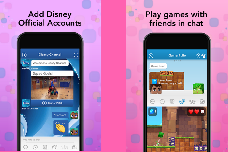 Disney Mix Social Messaging App for Kids Lands on the App Store