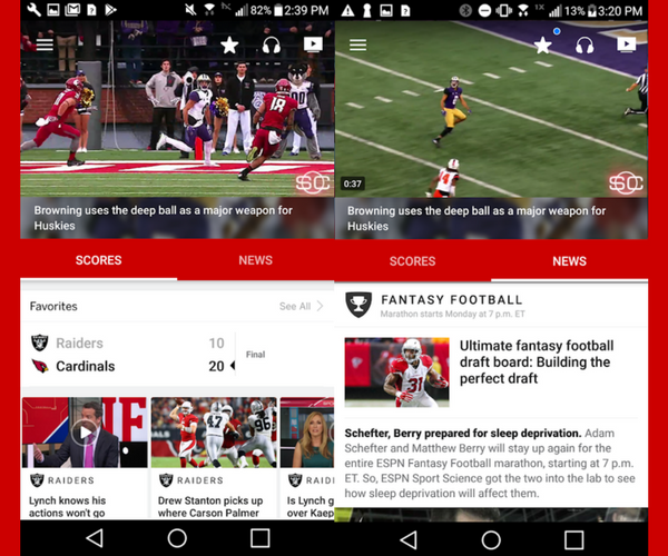 ESPN - Must-Have Apps For Sports Fans (2018)
