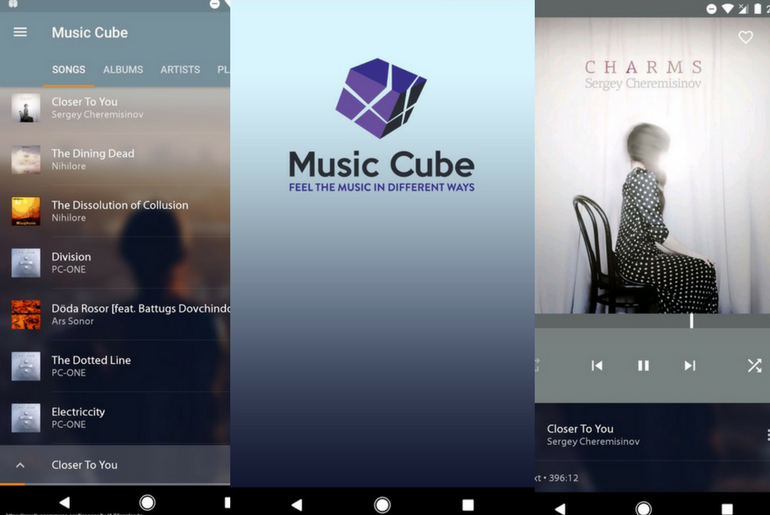 Feel The Beat of The Music with the Music Cube FLAC Player App for Android