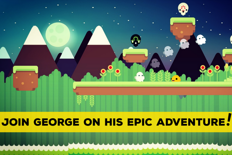 George Scared Of The Dark Debuts on iOS
