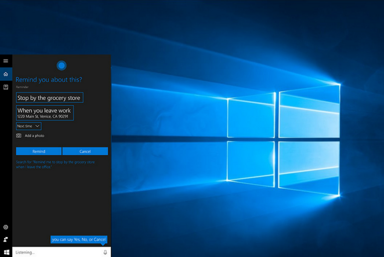 How to Create Reminders in Windows 10 Using Cortana