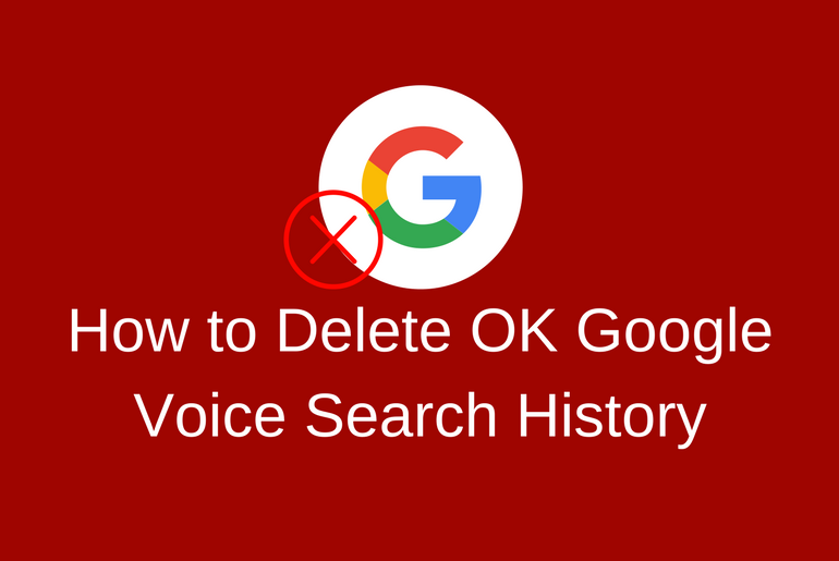 How to Delete OK Google Voice Search History