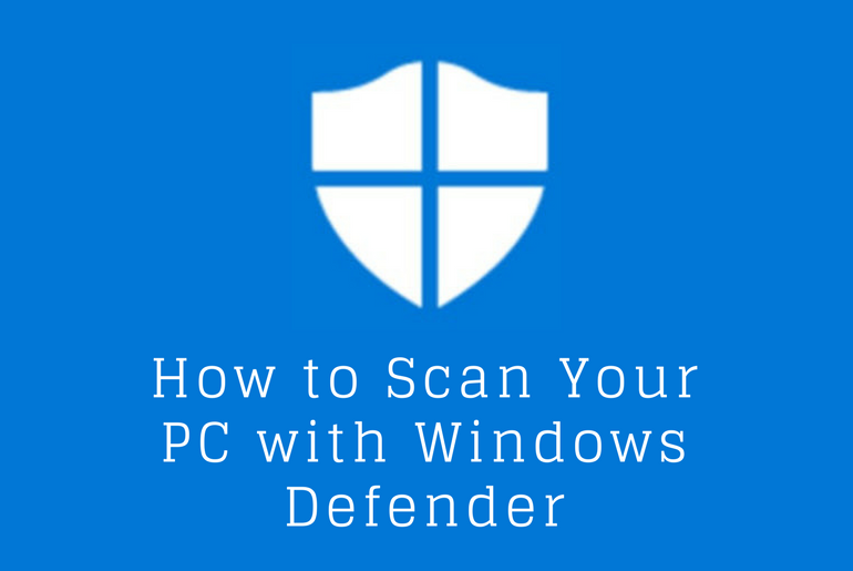 How to Scan Your PC with Windows Defender While On Another Antivirus Program