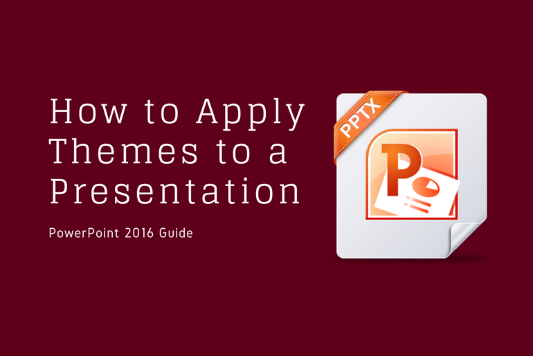 Learn PowerPoint How to Apply Themes to a Presentation