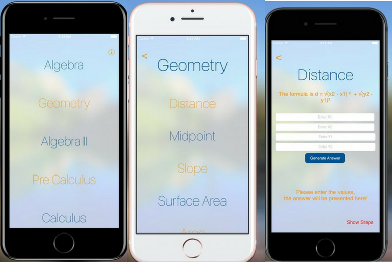 Never Memorize a Formula with 6284 Calc App for iOS