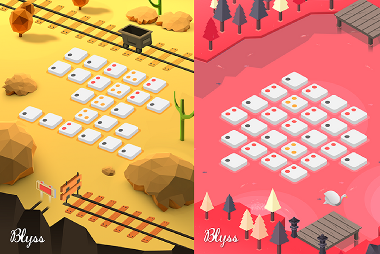 Relaxing Puzzle Game Blyss Lands on the App Store