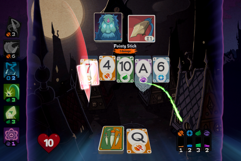 Solitairica a Fun RPG Solitaire Mashup is Now on IOS