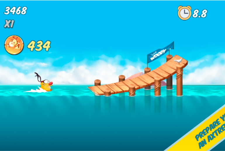 Woody Endless Summer a Fun Arcade Adventure Game Now on iOS & Android