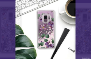 Glam Up with These Casetify Glitter Cases for Samsung Galaxy S9 and S9 Plus