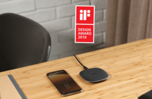Charge your Phone Wirelessly with the Award Winning Aukey Graphite Wireless Charger