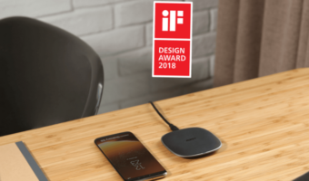 Charge your Phone Wirelessly with the Award Winning Aukey Graphite Wireless Charger - FE