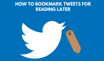 How to Bookmark Tweets for Reading Later