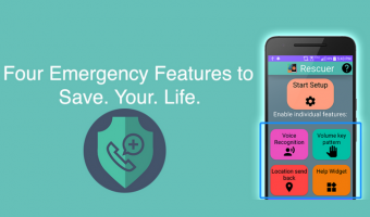 Rescuer The Official Emergency Assistant is a Safety Alert App To Have on You At All Times