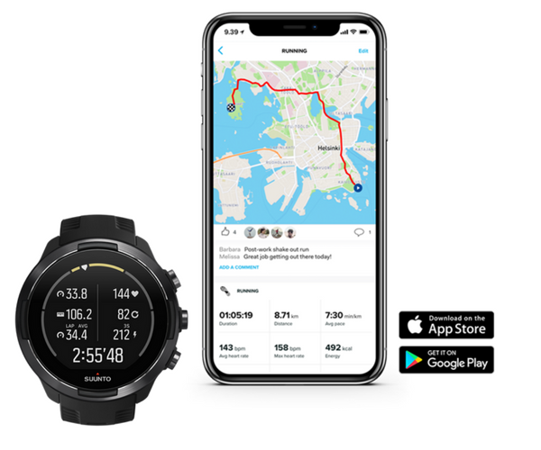 Suunto 9 Smartwatch - app