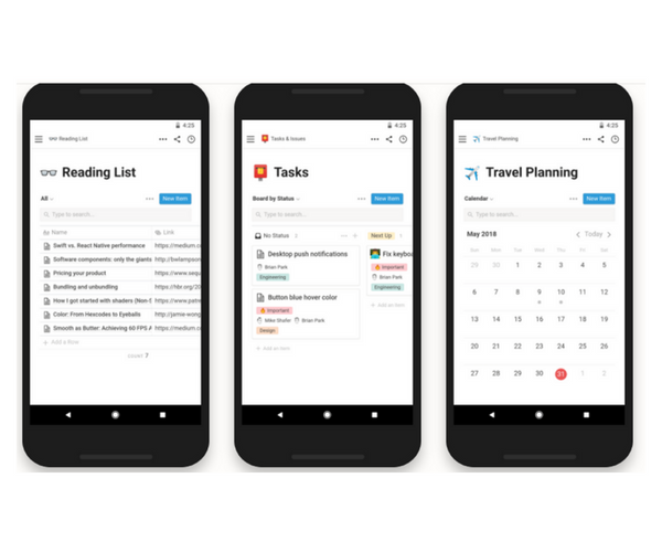 Notion App for Android - Powerful Productivity App for Power