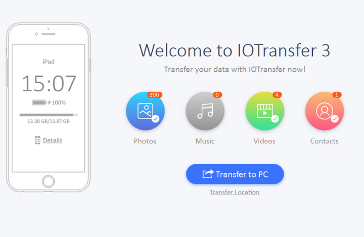 IOTransfer 3 review - FE