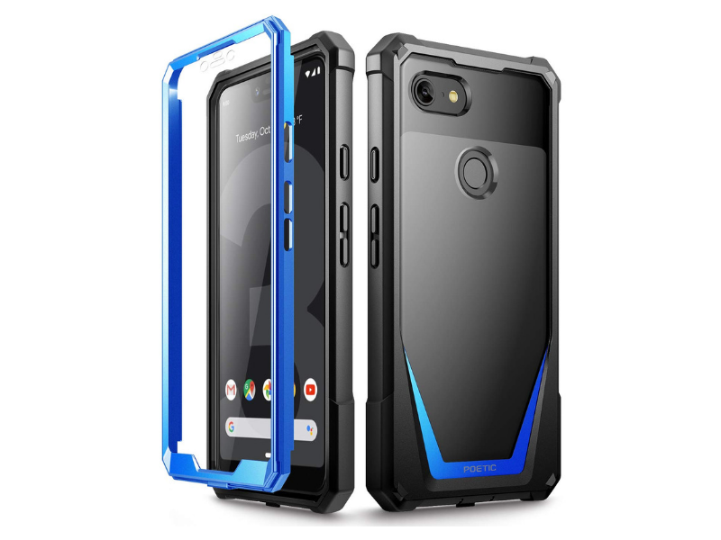 Best Cases for Google Pixel 3 XL - Poetic Guardian Rugged Hybrid Case