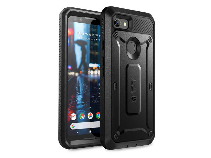 Best Cases for Google Pixel 3 XL - SUPCASE Rugged Holster Case