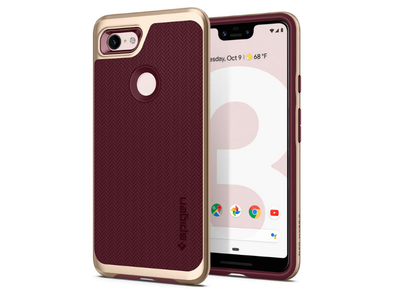 Best Cases for Google Pixel 3 XL - Spigen Neo Hybrid