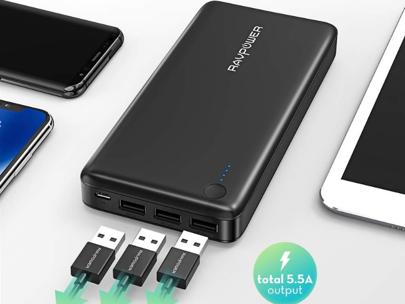 Essential Accessories for Chromebook -RAVPower Portable Charger
