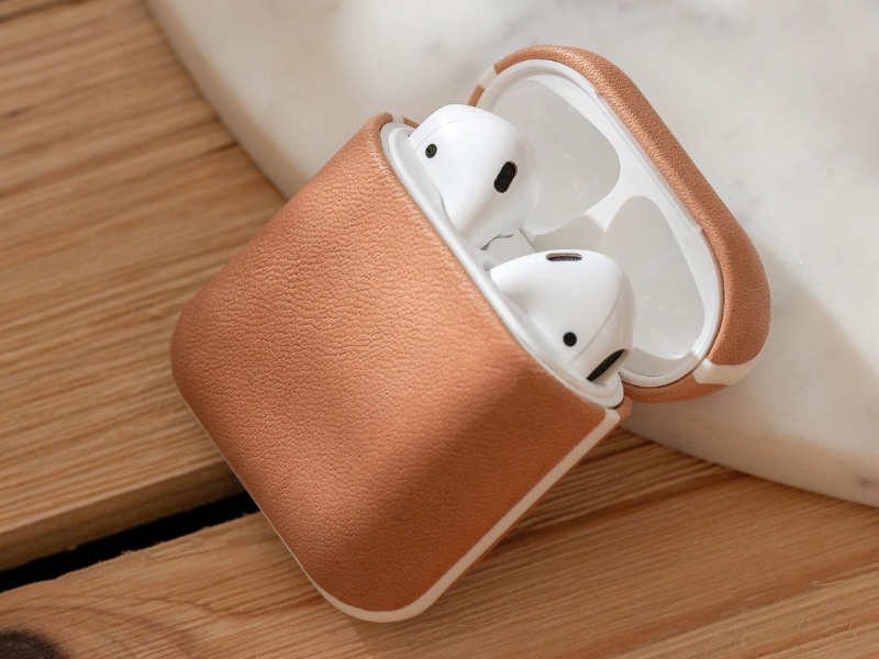 Nomad Leather Accessories - AirPods Rugged Case