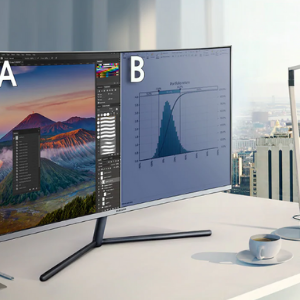 Shop - Samsung UR59C Curved Monitor - 1
