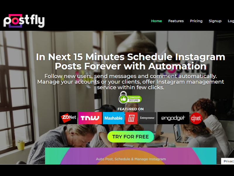 PostFly Instagram Automation Tool Helps You Grow Your