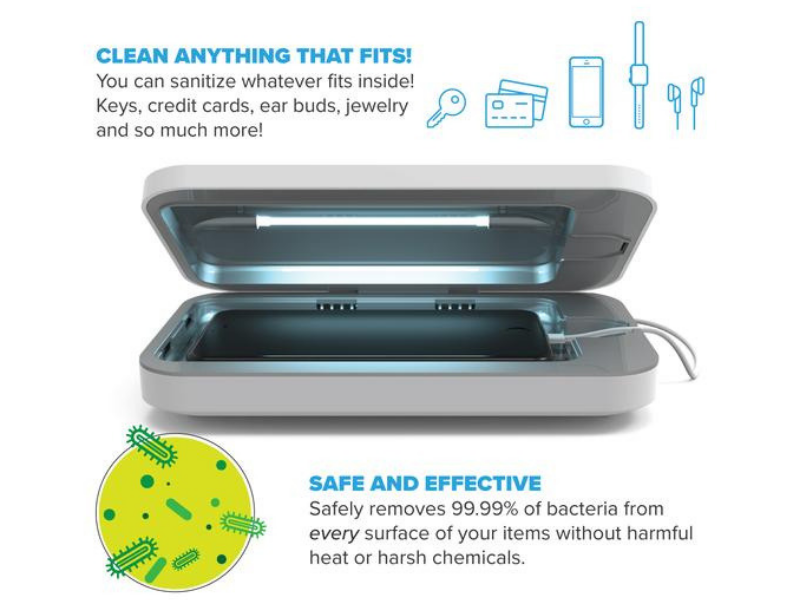 phonesoap phone cleaner