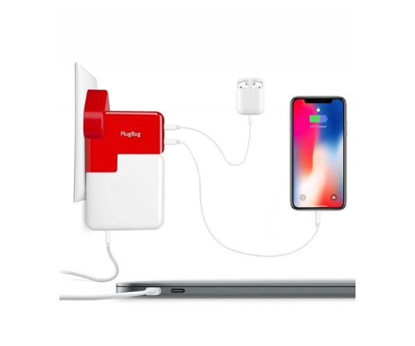 PlugBug Duo Macbook Charger and Adapter