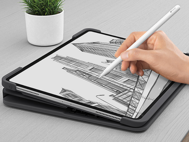 Logitech Slim Folio Pro Drawing Mode