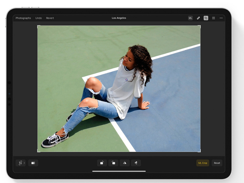 Pixelmator Photo App for iPad
