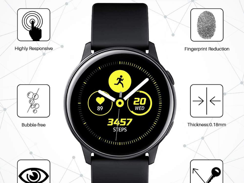 Best Screen Protectors for Galaxy Watch Active - LK Screen Protector