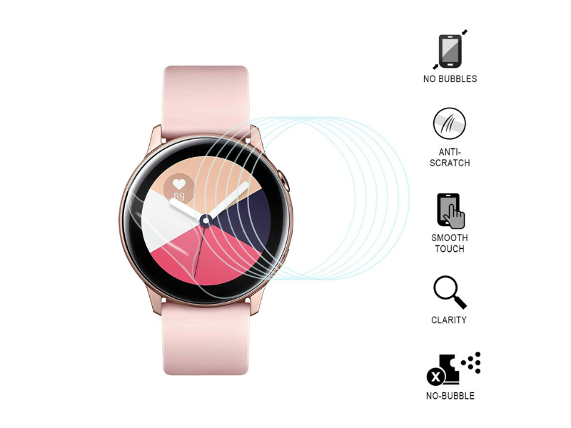 Best Screen Protectors for Galaxy Watch Active - SPGuard LiQuidSkin