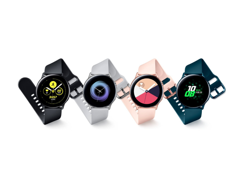 Galaxy Watch Active – colors
