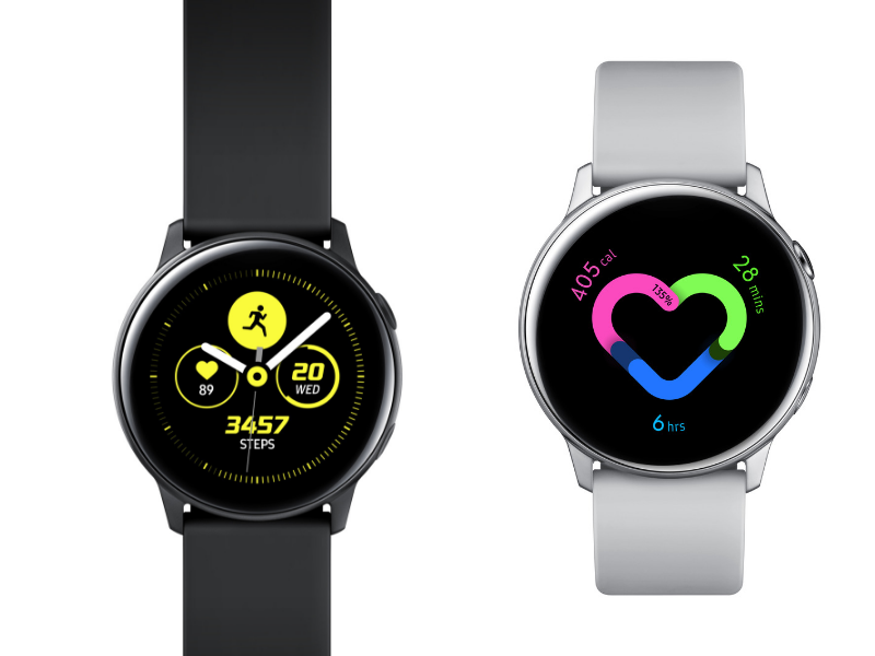 Galaxy Watch Active – health and fitness features