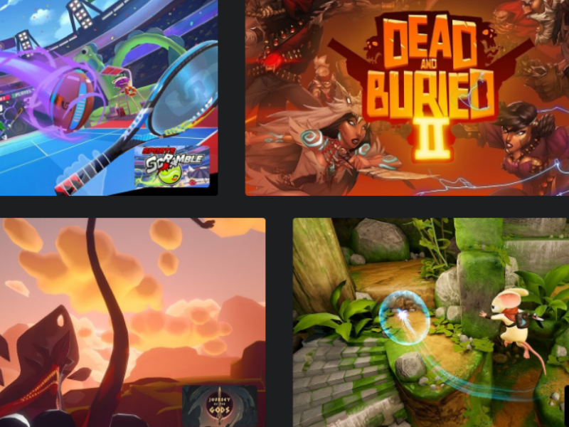 Oculus Quest VR Gaming Headset Games