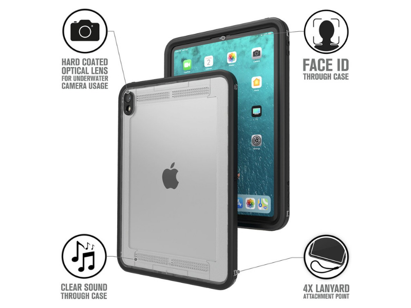 Catalyst Waterproof Cases for iPad Pro - features