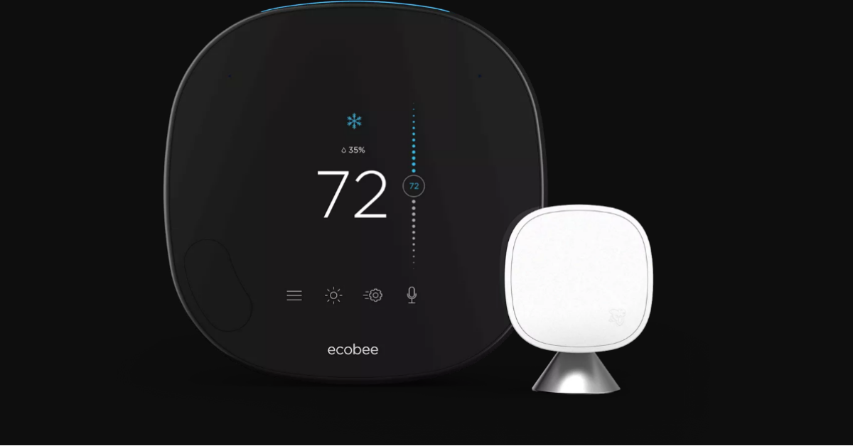 Ecobee Smartthermostat With Voice Controls