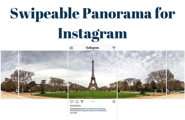 Swipeable Panorama for Instagram - TATFI
