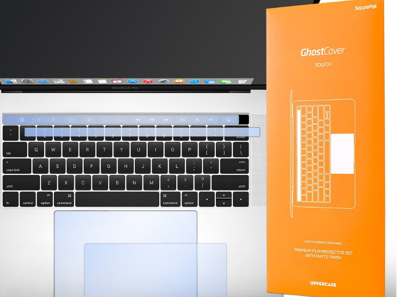 Best Keyboard Covers for MacBook Pro - UPPERCASE GhostCover