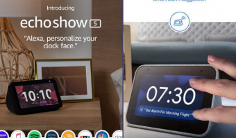 Echo Show 5 or Lenovo Smart Clock- TATFI