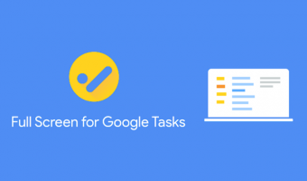 Full Screen for Google Tasks Chrome Extension - TATFI